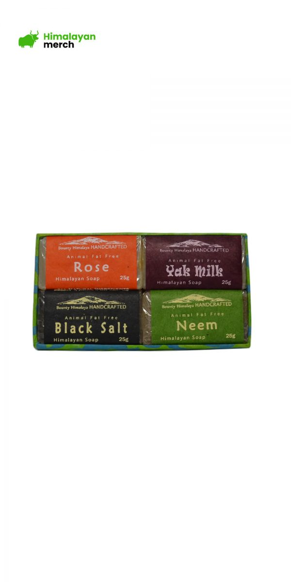 Organic Himalayan Handmade Soap- Pack of 4