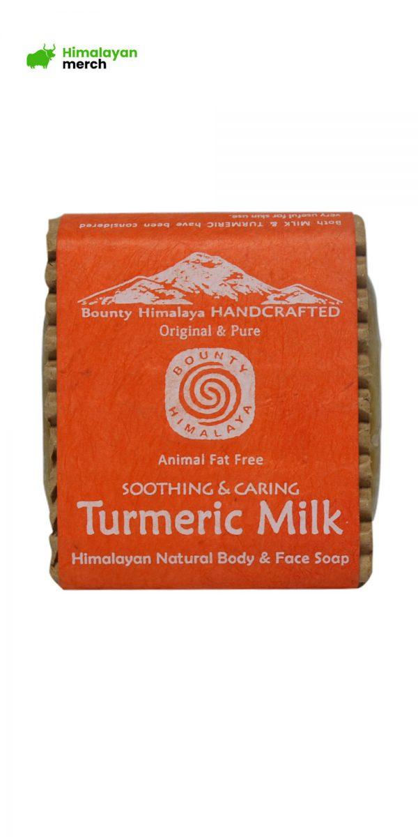 Organic Himalayan Handmade Soap –Turmeric Milk