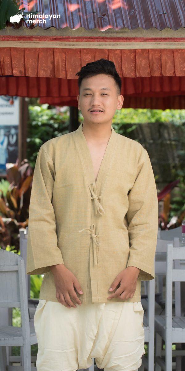 Ritual Kimono Hemp Shirt